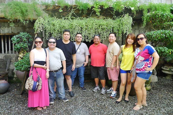 Bloggers at Yap-Sandiego Ancestral House