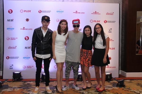 Justin with Smart Digital Ambassadors
