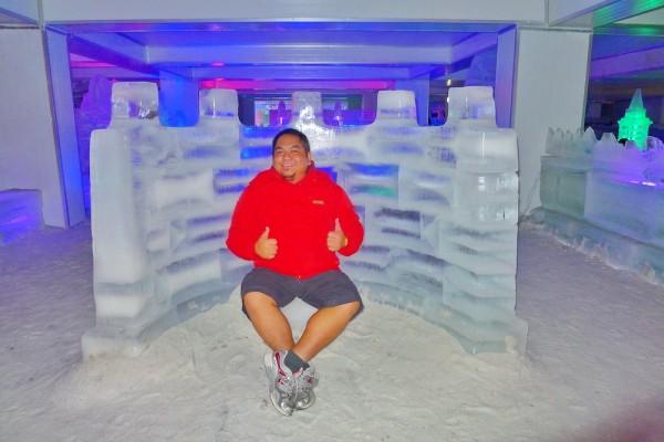 Melo Villareal inside Snowalk