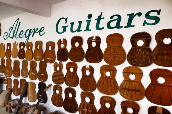 Types of Wood used by Alegre Guitars