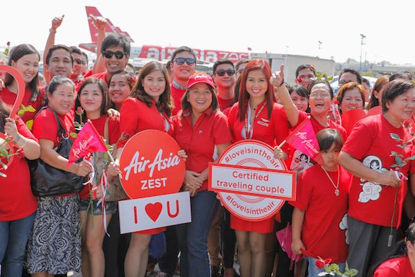 AirAsia Philippines Valentine's Day Social Media Event