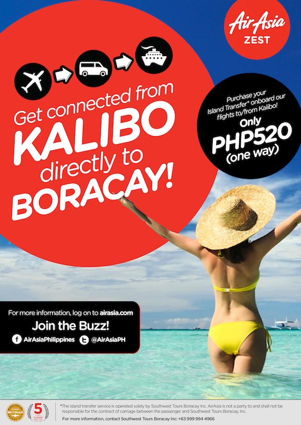 AirAsia Zest opens Boracay Island Transfer Service