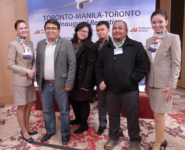 Filipino Travel Bloggers in Toronto Canada courtesy of Philippine Airlines