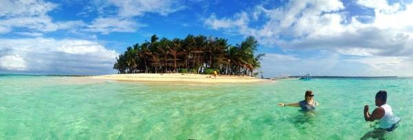 Panoramic View of Guyam Island
