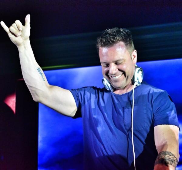 DJ at the Club Anthem