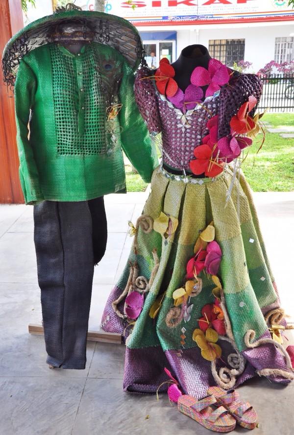 Filipiniana Costume at Dona Aurora Aragon Quezon House