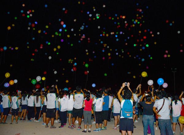 Sillag 2014 Hope Lantern Ceremony