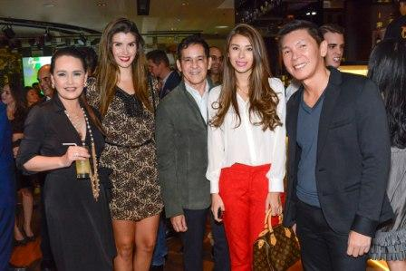 Fila Philippines' Cris Albert, Borges Jaque, Atom Henares, Luane de Lima & Richard Tiu