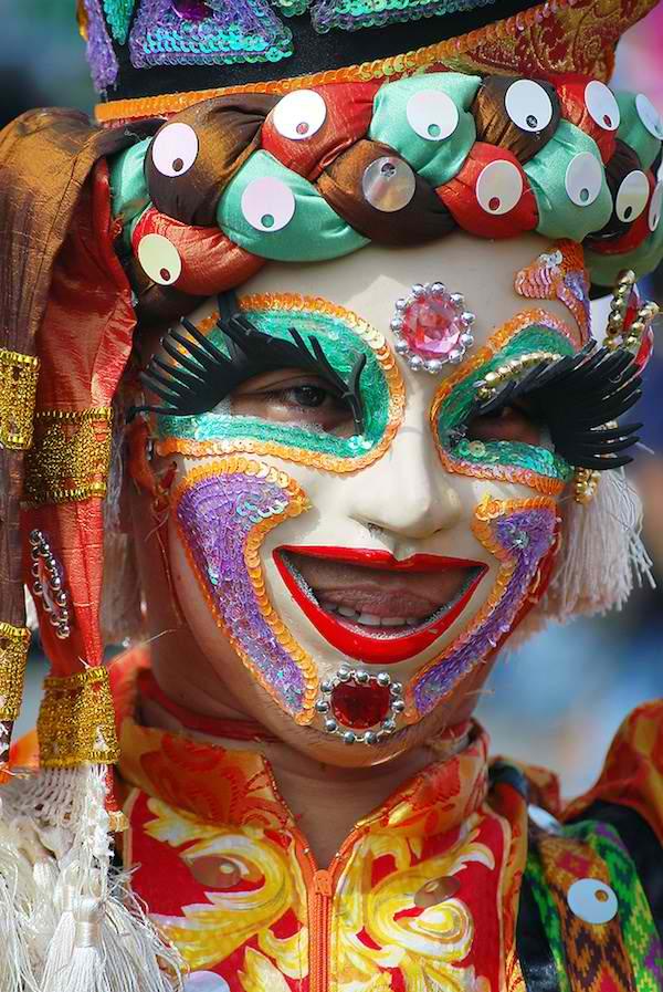Masskara Festival Street Dancer