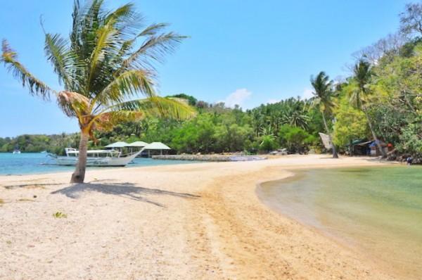 Sandbar in Puerto Galera