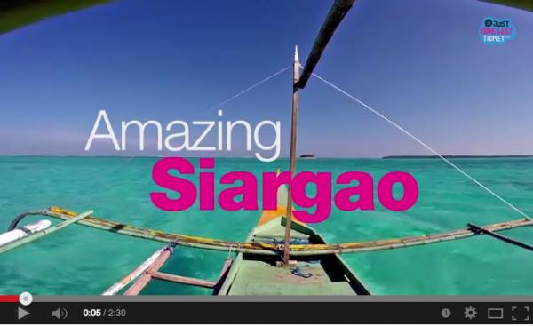 Amazing Siargao Video by Sabrina Iovino