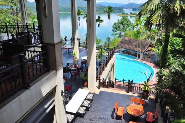 Arrival at Lake Kenyir Resort