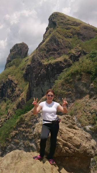 Kris Crismundo in Pico de Loro