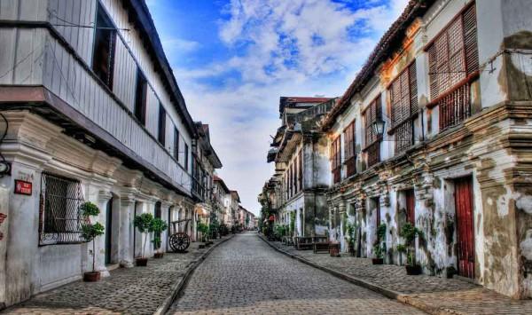 Vigan City Calle Crisologo