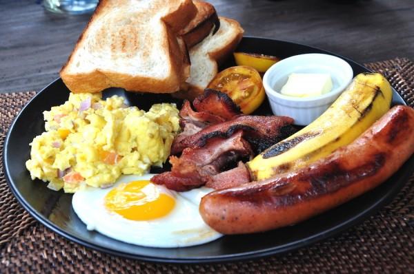 Big Breakfast at Buddha's Resort