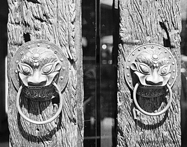 Doors at Polland Hopia in Escolta photo by Noel