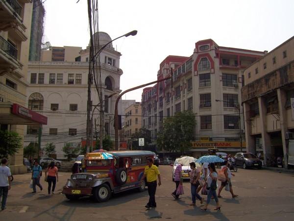 Escolta Street in Manila by Martindemo