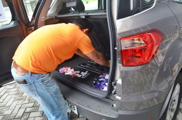 Finishing the puzzle at Ford Manila Bay