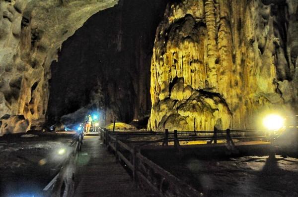 Inside Bewah Cave
