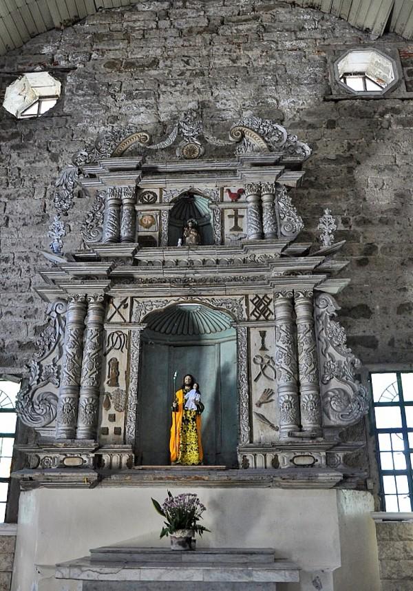 Inside St Joseph Cathedral in Romblon