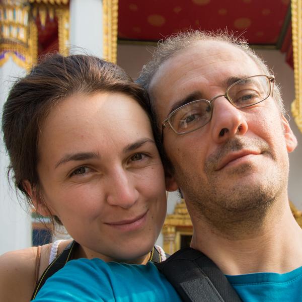 Ivana & Gianni of NomadisBeautiful.com