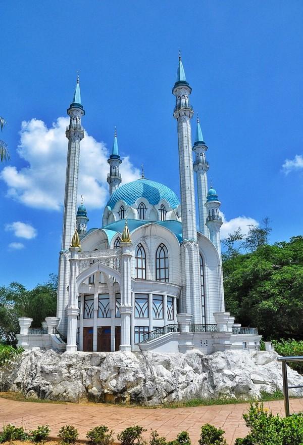 Replica of Kul Sharif Mosque, Kazan City in Russia