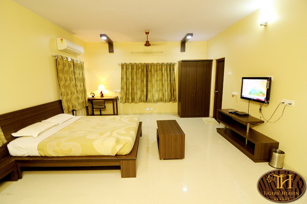 Rooms at Tigers Heaven Resort