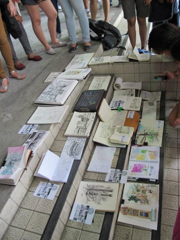 Urban Sketchers Philippines phot by Ige Trinidad