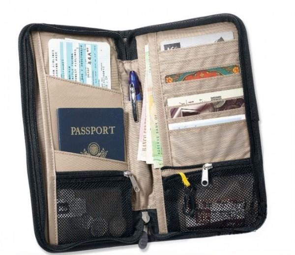 Passport and travel Documents organizer