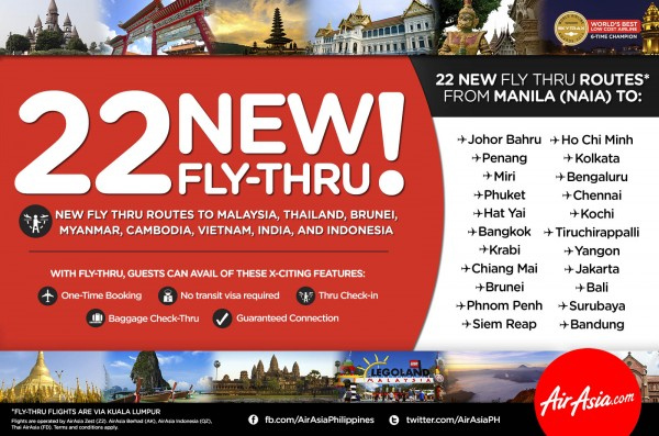 AirAsia Zest Fly Thru