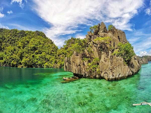 Islet in Coron Palawan