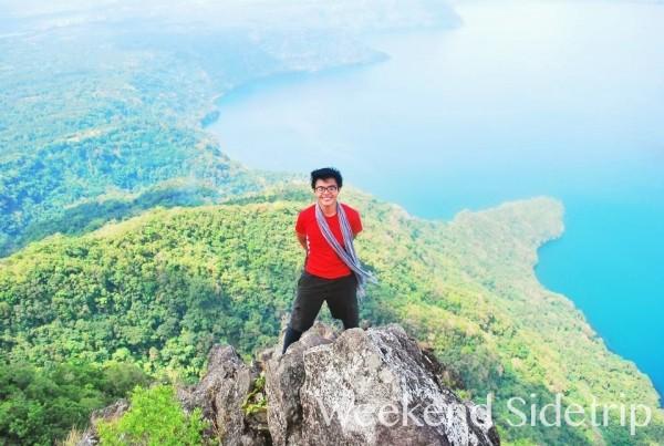 Mc Pol Cruz in Mount Maculot