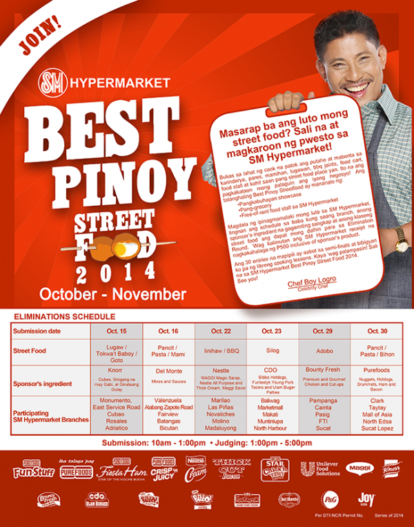Best Pinoy Street Food 2014