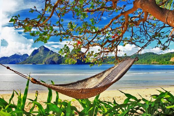 lazy tropical holidays