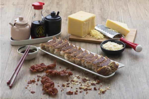 Osaka Ohsho Bacon & Cheese Gyoza