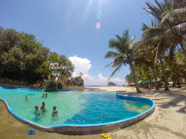 Pool at AMCO Pacific Beach Resort