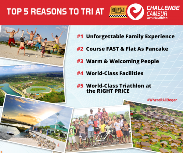 Top 5 Reasons to Tri at Camsur