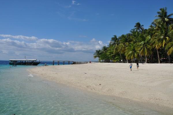 White Sand Beach near Davao City