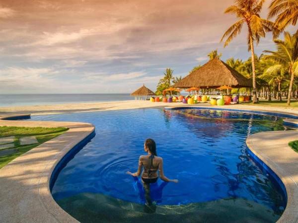 Infinity Pool at Sout Palms Resort