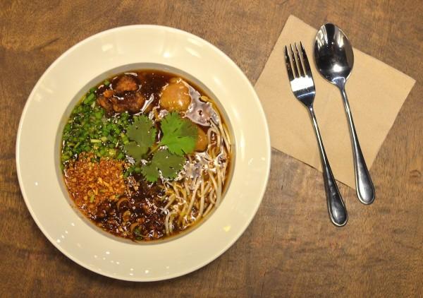 Maki Mi Thick Noodle Soup