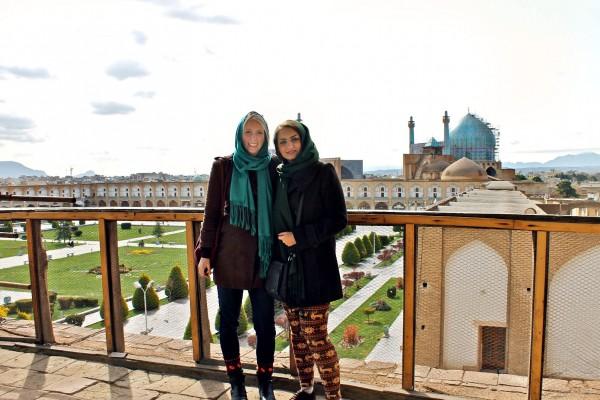 Silvia in Iran