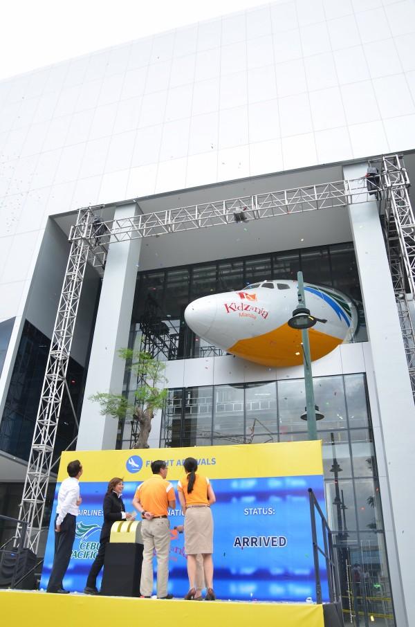Unveling the Cebu Pacific Aircraft inside Kidzania Manila Facility
