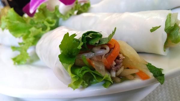 Vietnamese Vegetable Spring Rolls