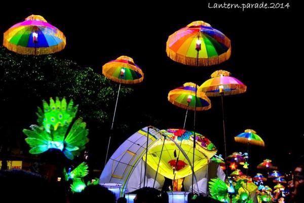 Lantern Parade in Baguio City photo by Kai Tamz