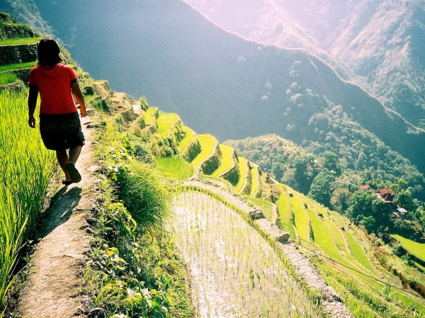 Batad Rice Terraces Trek by eesti via Flickr