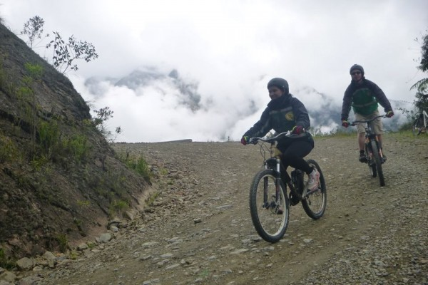 Biking the Death Road in Bolivia