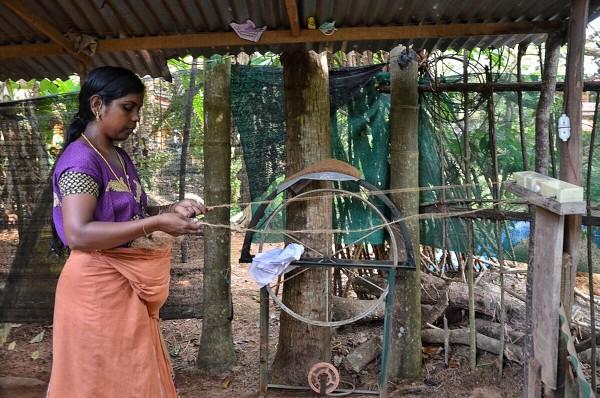 Coir and natural fibre makers in Kerala