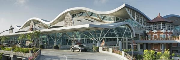 Departure Area of Ngurah Rai International Airport