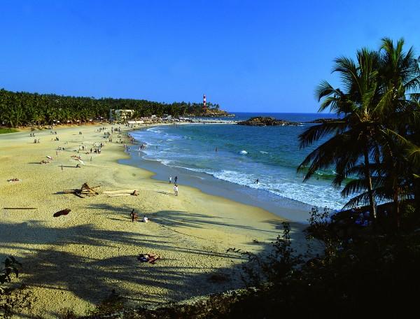 Kovalam Beach in Kerala