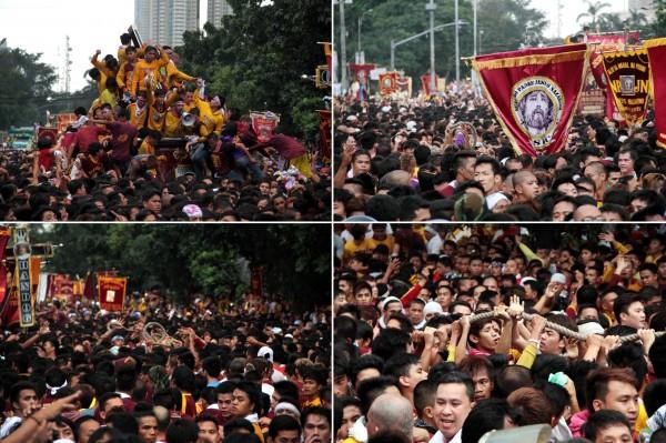 Quiapo Fiesta Procession 2015
